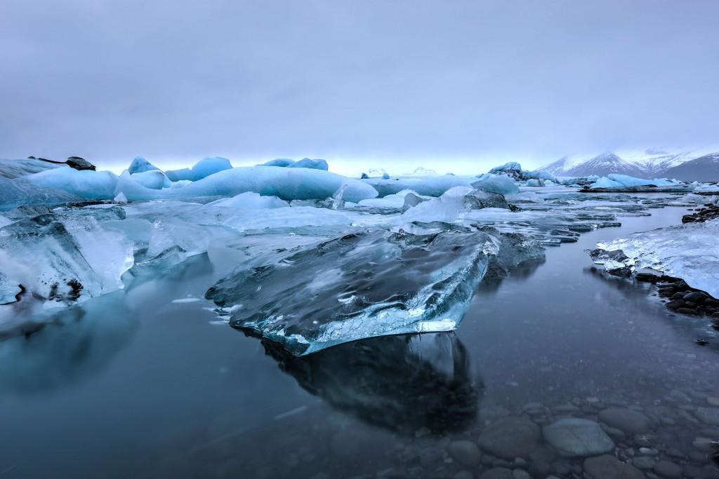 Jokularslon glacier lagoon